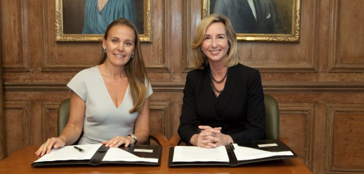 Babson Signing with Dona Bertarelli and Kerry Healey